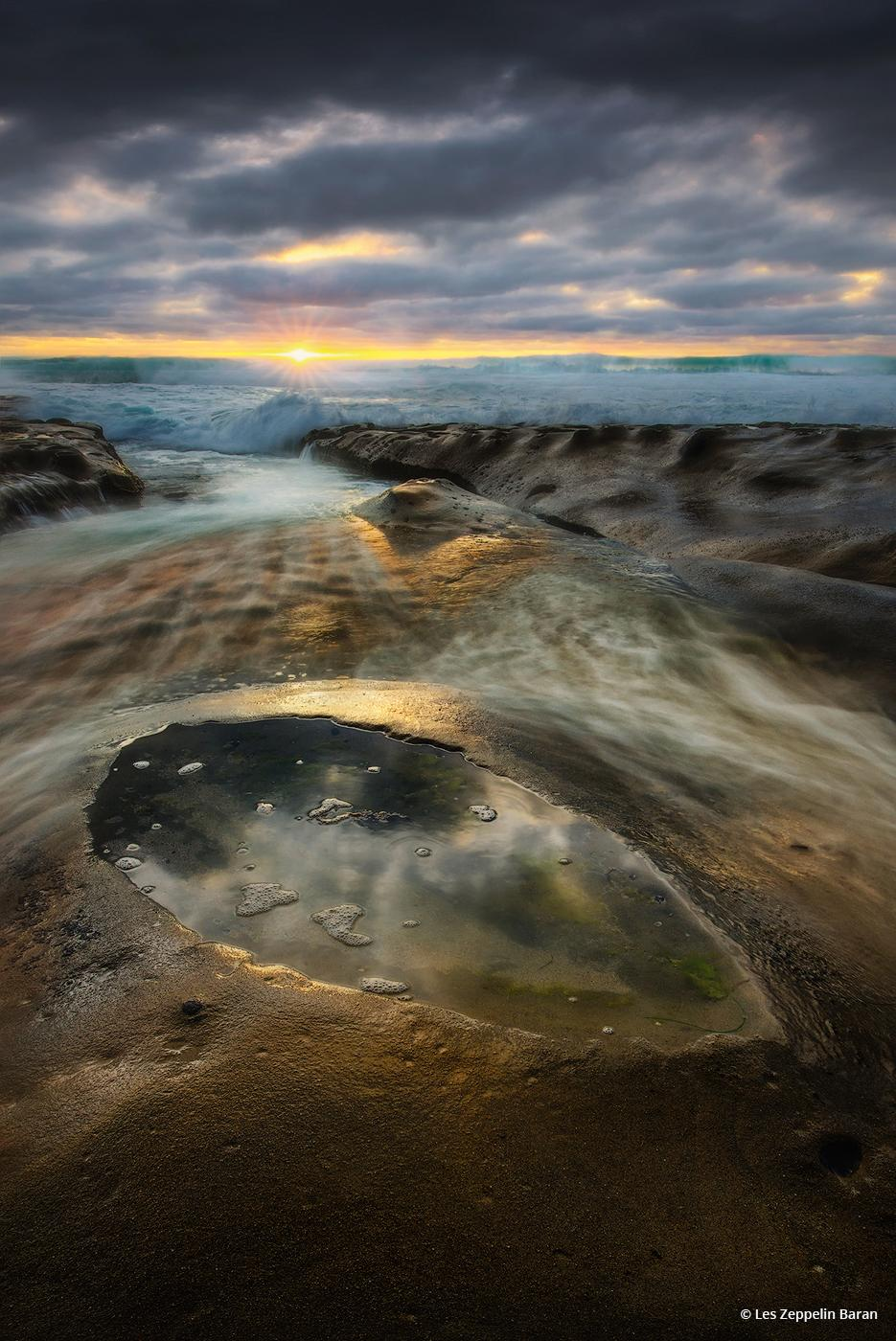 Today's Photo Of The Day is Stormwatch by Les Zeppelin Baran. Location: Hospitals reef, La Jolla, California.