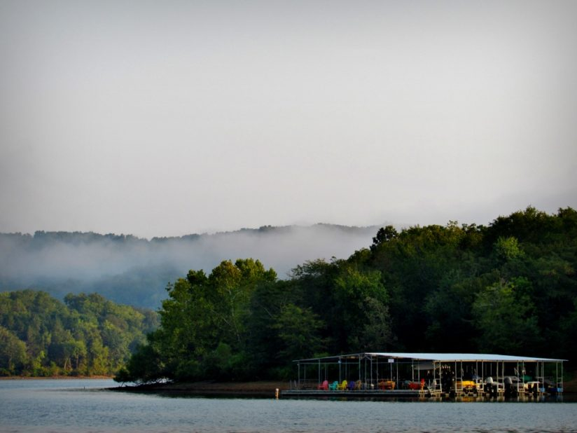 Foggy Morning on Table Rock