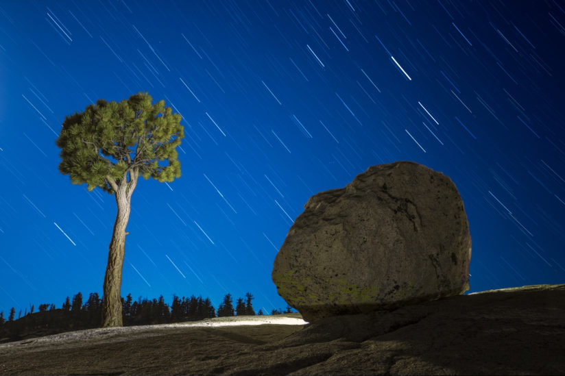 Olmsted Point star trails