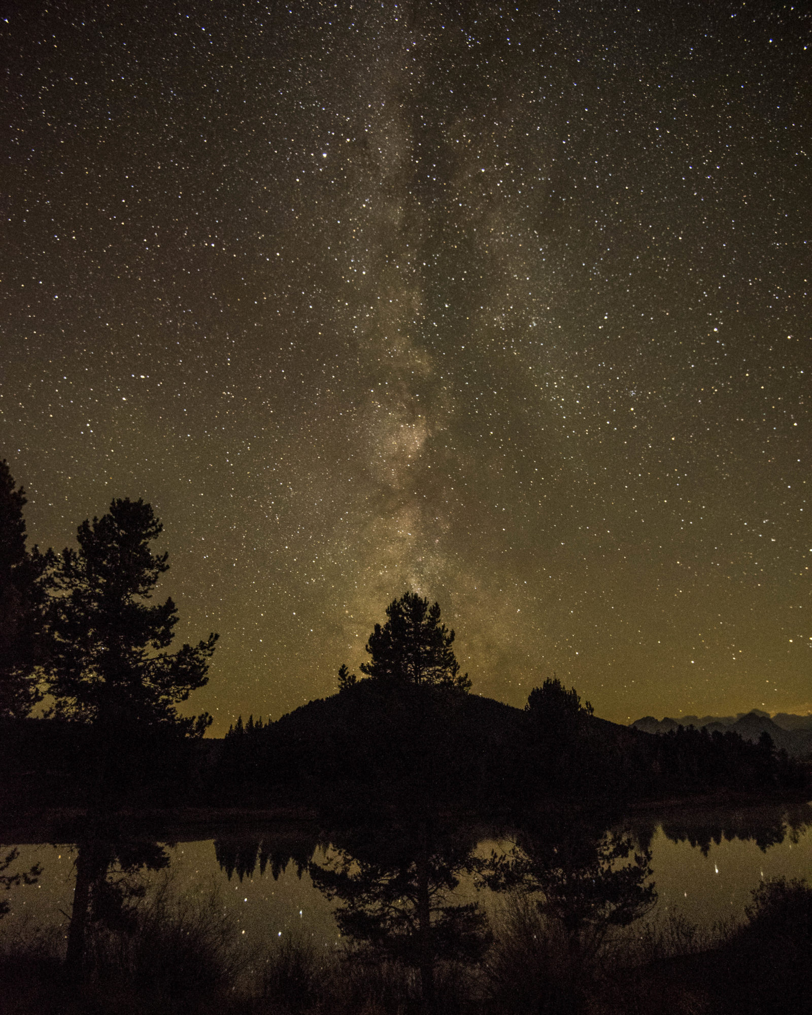 Wyoming Shooting Stars: Milky Way Over The Oxbow