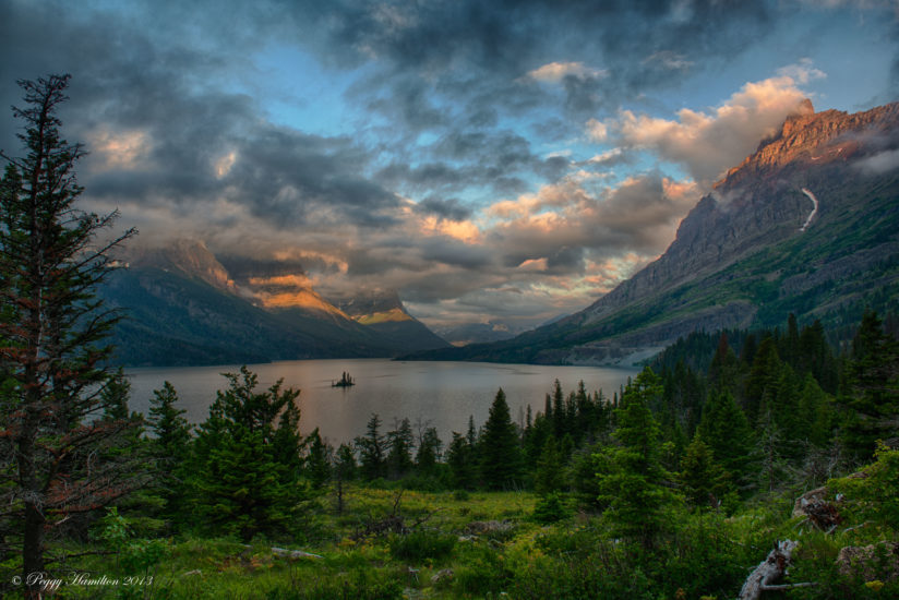 St. Mary Lake at Sunrise – Glacier National Park