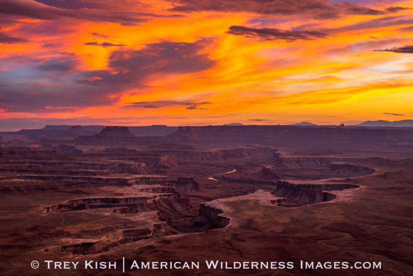 Sunset, Green River Overlook, UT