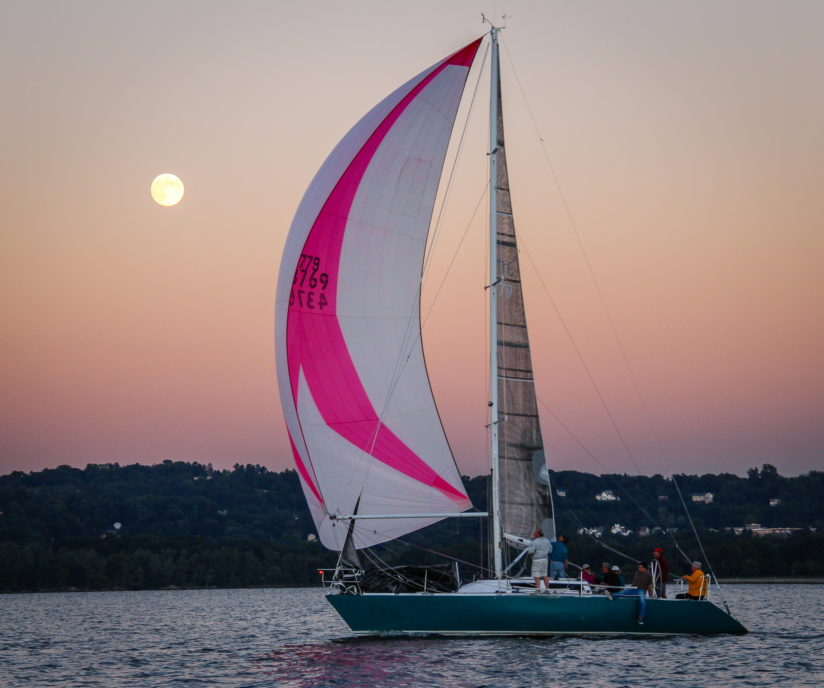 Spinnaker and the Moon