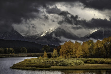 Oxbow Bend on a bad day